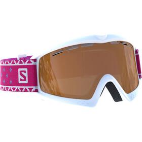 Salomon Kiwi Access Goggles Kinder white